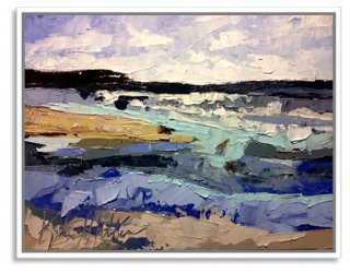 """Kate Mullin, Ocean - 40""""W x 31""""H - Framed - One Kings Lane"""