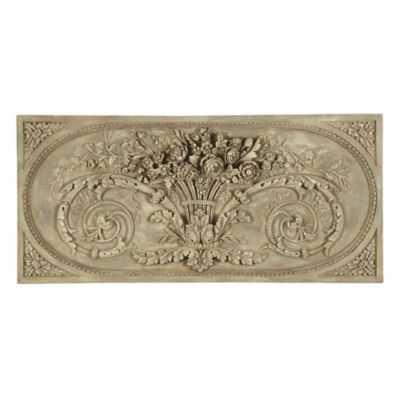 Grande Bouquet Plaque - Ballard Designs