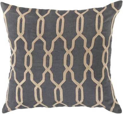 GLAMOROUS GEOMETRIC PILLOW - 18x18 - With Insert - froy.com