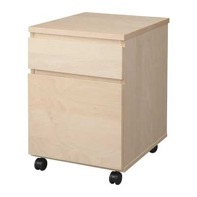 MALM Drawer unit on casters - Ikea