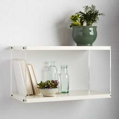 Acrylic Sided Shelf - West Elm