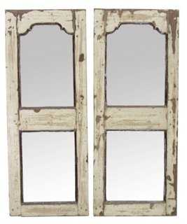 Indo-French Mirrors, Pair - One Kings Lane