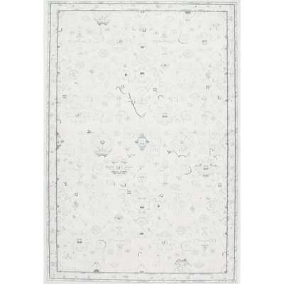 NuLOOM Traditional Abstract Vintage Cream Rug (7'10 x 11') - Overstock