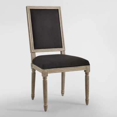 Black Square-Back Paige Dining Chairs, Set of 2 - World Market/Cost Plus