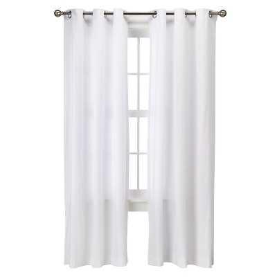 Grayson Grommet Curtain Panel Pair-95'' - Target