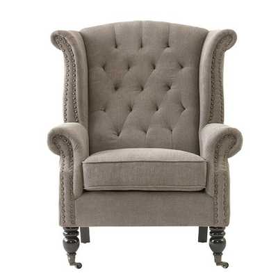 Milo Wing Chair - Home Decorators
