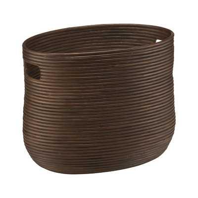 Galang Magazine Basket - Crate and Barrel