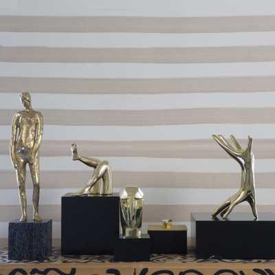 DICHOTOMY SCULPTURE-Burnished Bronze - kellywearstler.com
