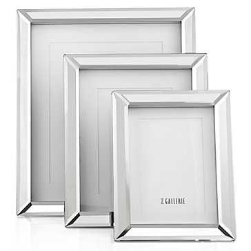 "Broadway Mirrored Frame - 5"" x 7"" - Z Gallerie"