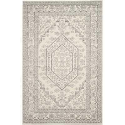 Safavieh Adirondack Ivory/ Silver Rug (8' x 10') - Overstock