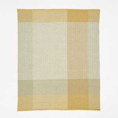 "Margo Selby Balanced Weave Wool 5"" x 8"" Rug - West Elm"