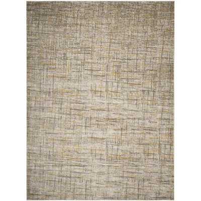 Safavieh Porcello Grey/ Dark Grey Rug (6' x 9') - Overstock