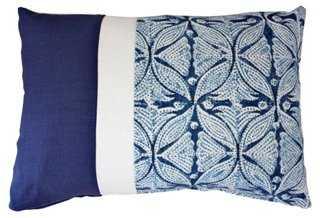 Jair Cotton-Blend Pillow - One Kings Lane