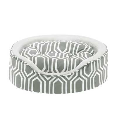 Soft Touch Miley Fretwork Oval Cuddler Dog Bed with Cushion - Wayfair