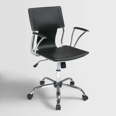 Black Ethan Office Chair - World Market/Cost Plus