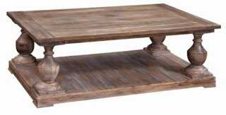 Hitchcock Rectangular Coffee Table - One Kings Lane