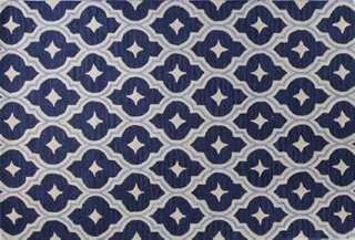Cera Rug, Navy - One Kings Lane