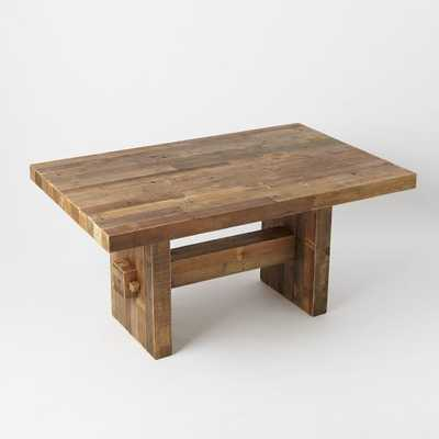 """Reclaimed Wood Dining Table - 62"""" - Reclaimed Pine - West Elm"""