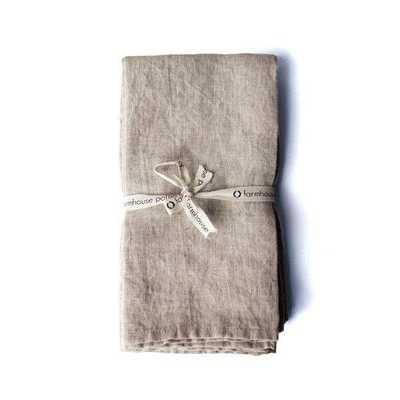 Washed Linen Napkins - Domino