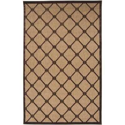 Woven Dorchester Indoor/Outdoor Geometric Rug (8'8 x 12') - Overstock