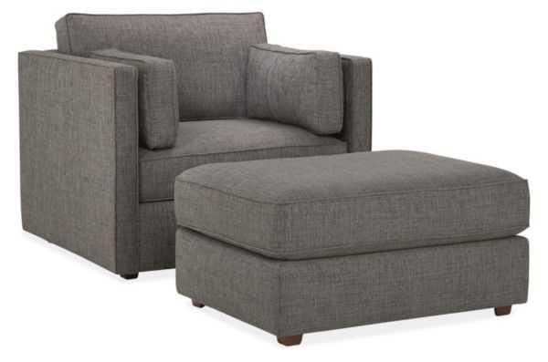 Watson Chair & Ottoman - Room & Board