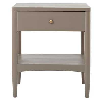Hampshire Nightstand (Clay) - Land of Nod
