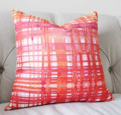 "Watercolor Pillow - 12"" x 20"" - Insert is not included - Etsy"