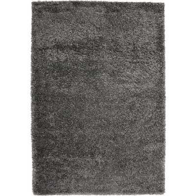 "Safavieh California Cozy Solid Dark Grey Shag Rug - 5'3"" x 7'6"" - Overstock"