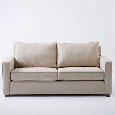 """Henry® Sofa - 86"""" - Natural, Linen Weave - West Elm"""