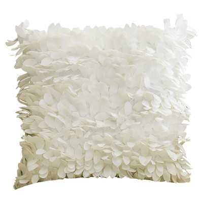 Luanna Throw Pillow - Gray - 18x18 - Polyester Insert - Wayfair