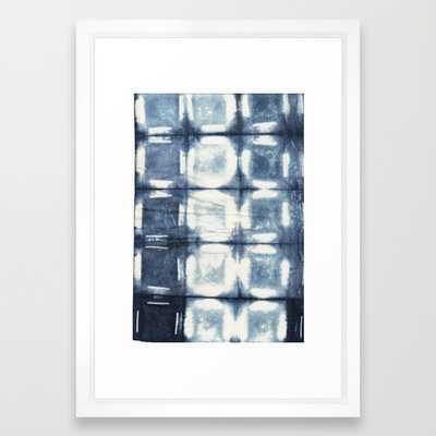 """Shibori - 15"""" X 21"""" - Framed - Society6"""
