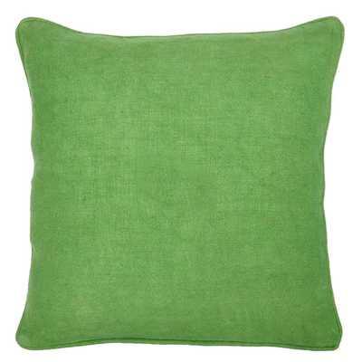 """Sesto Linen Throw Pillow -22"""" x 22"""" -insert included - AllModern"""