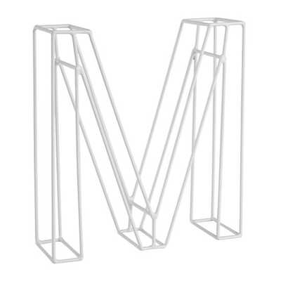 M Framework Metal Letter - Land of Nod