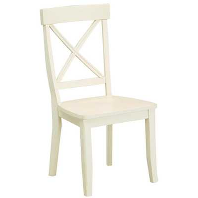 Home Styles Antique White Dining Chairs (Set of 2) - Overstock