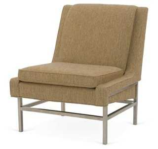 Gio Accent Chair, Camel - One Kings Lane