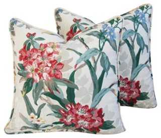 P. Kaufmann Rhododendron Pillows, Pair - One Kings Lane