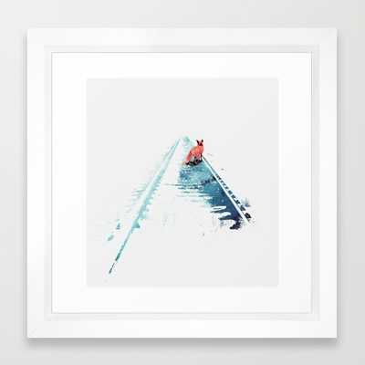 """From nowhere to nowhere - Framed 12"""" x 12"""" - Society6"""