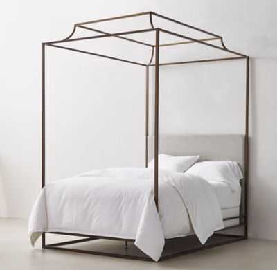 CECILY CANOPY BED-Full - RH Teen