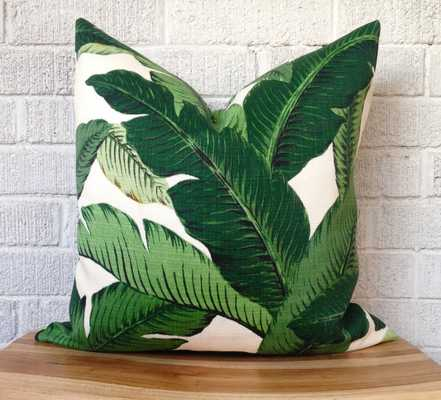 """Swaying Palms Pillow Cover-20""""-without insert - Etsy"""