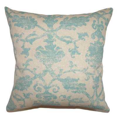 """Kabala Ikat Cotton Throw Pillow-18""""-with insert - Wayfair"""
