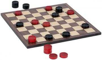 NOSTALGIC WOODEN CHECKERS SET - Home Decorators