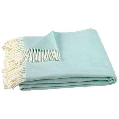 Lands Downunder Italian Herringbone Throw Blanket - Wayfair
