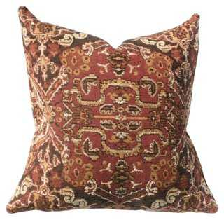 Ankara Cotton-Blend Pillow - One Kings Lane