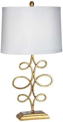Nadia Scroll Table Lamp - Lamps Plus