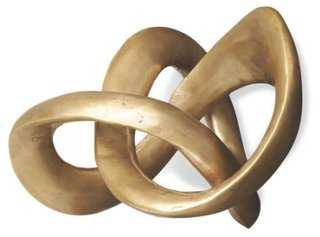 "9"" Trefoil Knot Sculpture - One Kings Lane"