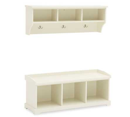SAMANTHA BENCH & SHELF - Pottery Barn
