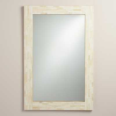 Ivory Bone Mirror - World Market/Cost Plus