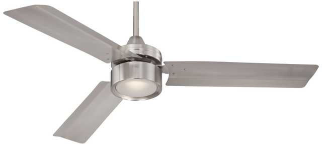 "52"" Casa Arcusâ""¢ Brushed Nickel LED Ceiling Fan - Lamps Plus"