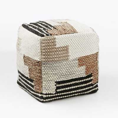 Colca Wool Pouf - Cover + Insert - West Elm