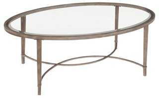Corby Oval Coffee Table - One Kings Lane